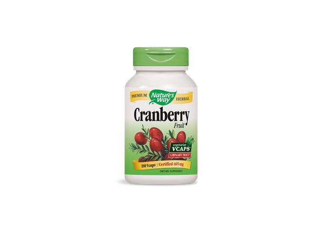 Cranberry Fruit - Nature's Way - 180 - VegCap