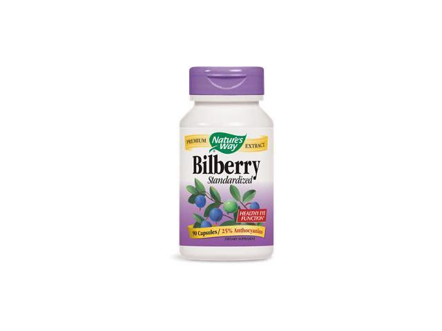 Bilberry Standardized Extract - Nature's Way - 90 - Capsule