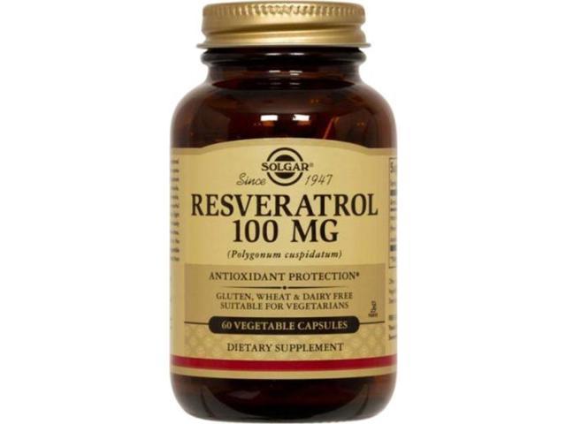 Resveratrol 100mg - Solgar - 60 - VegCap