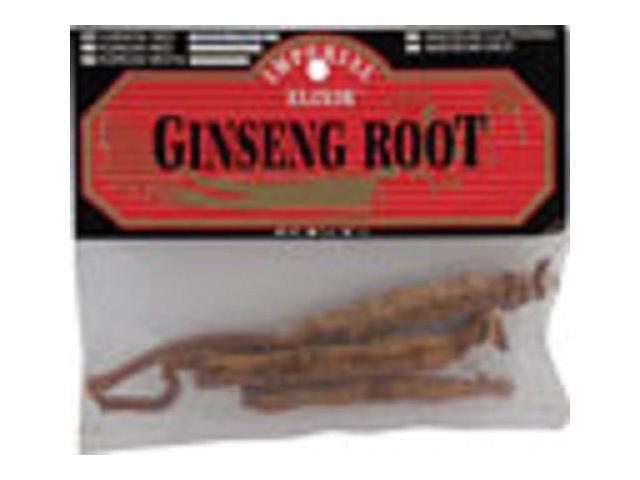 Chinese Red Whole Ginseng Root - Imperial Elixir (Ginseng Company) - 1 oz - Root