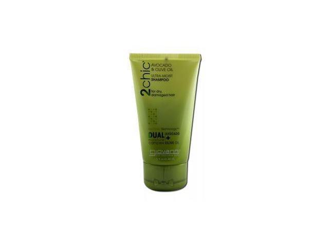 2chic Avocado & Olive Oil Ultra-Moist Conditioner Travel Size - Giovanni - 1.5 oz - Liquid