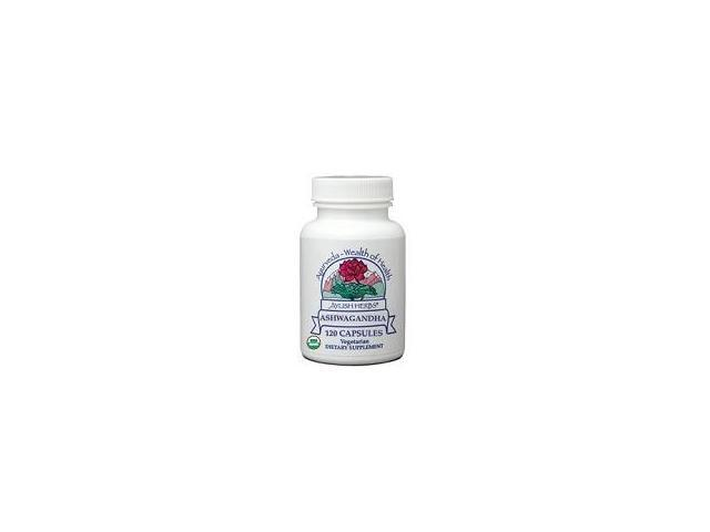 Ashwagandha - Ayush Herbs - 120 - VegCap