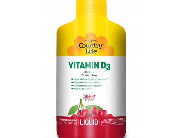Liquid Vitamin D3 5000 IU - Country Life - 16 oz - Liquid