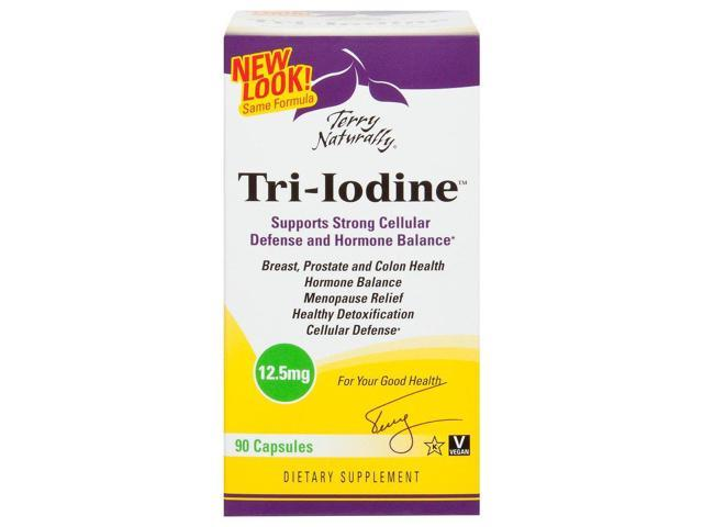 Tri Iodine 12.5mg - EuroPharma (Terry Naturally) - 90 - Capsule