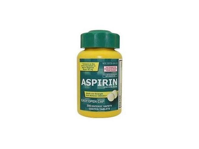 Low Dose Aspirin 81mg - PL Developments - 300 - Tablet