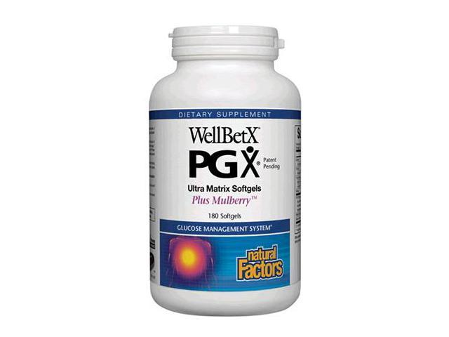 WellBetX Ultra Matrix Plus Mulberry - Natural Factors - 180 - Softgel