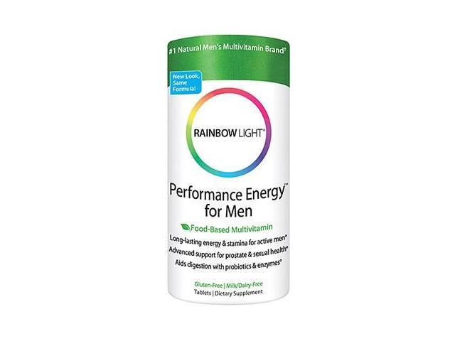 Performance Energy For Men - Rainbow Light - 90 - Tablet