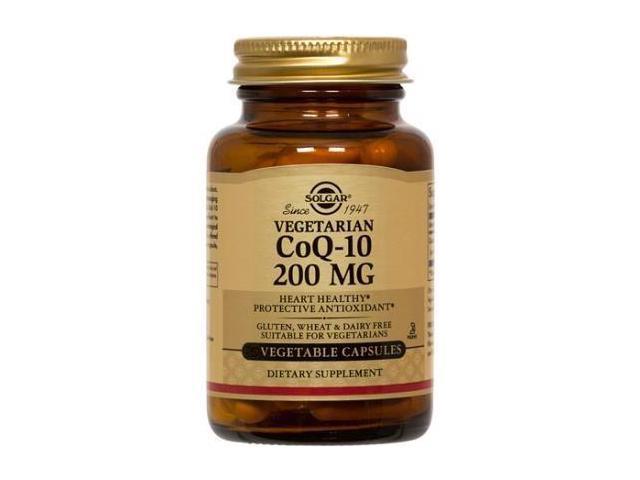 CoQ10 200mg - Solgar - 60 - VegCap