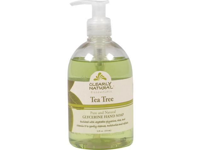 Clearly Natural Liquid Soap- Tea Tree - Clearly Natural - 12 oz - Liquid