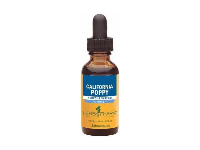 California Poppy Extract - Herb Pharm - 1 oz - Liquid