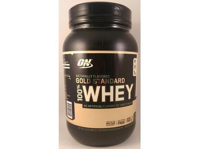100% Whey Gold Standard Natural - Vanilla - Optimum Nutrition - 1.9 lbs - Powder