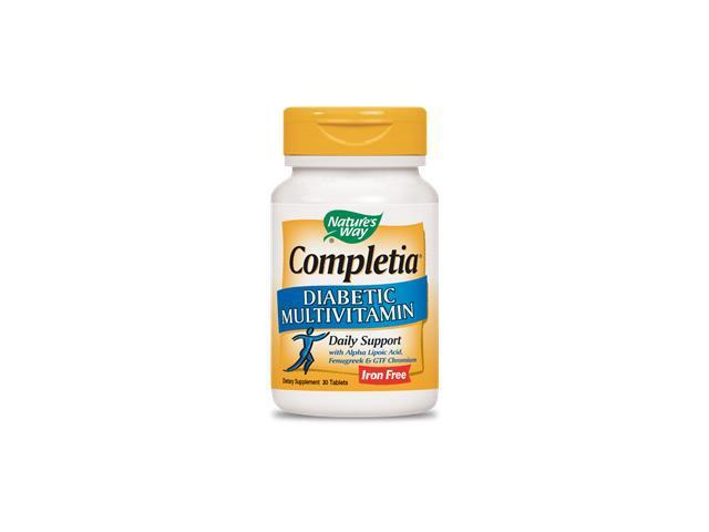 Completia Diabetic (iron free) - Nature's Way - 30 - Tablet
