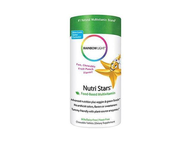 Nutristars-Fruit Blast - Rainbow Light - 120 - Chewable