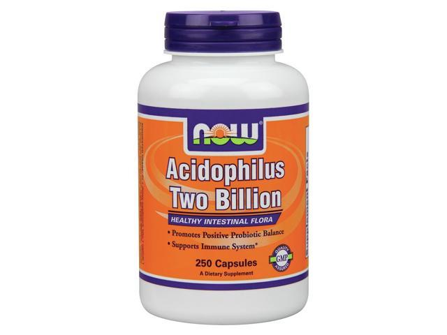 Acidophilus 2 Billion Milk Free - Now Foods - 250 - Capsule