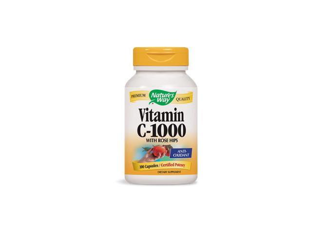 Vitamin C 1000mg With Rose Hips - Nature's Way - 100 - Capsule