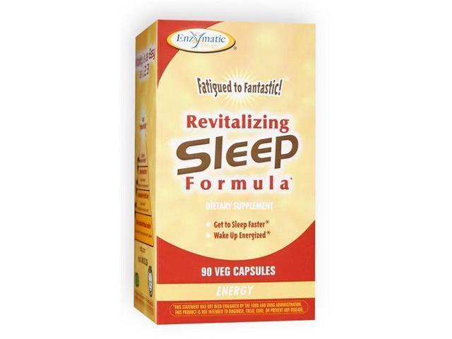 Fatigued to Fantastic! Revitilizing Sleep Formula - Enzymatic Therapy Inc. - 90 - Capsule