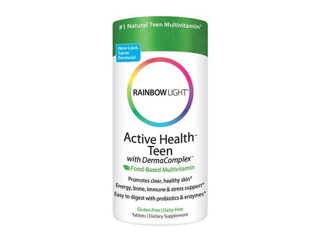 Active Health Teen Multivitamin - Rainbow Light - 90 - Tablet