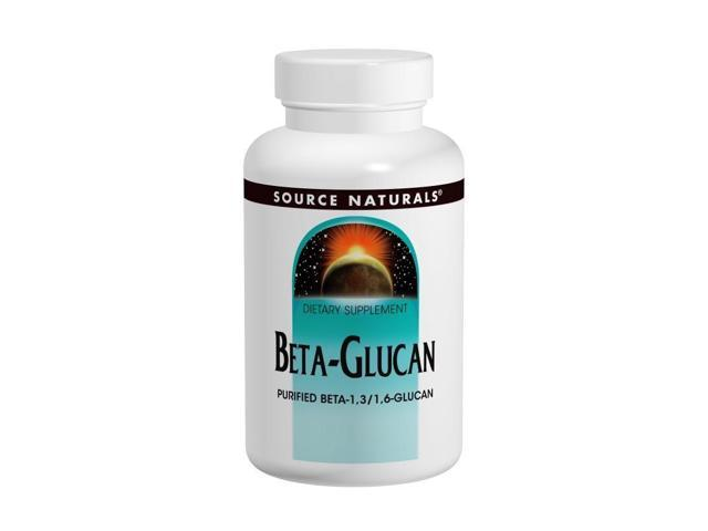 Beta Glucan 1,3/1,6 100 mg - Source Naturals, Inc. - 30 - Capsule