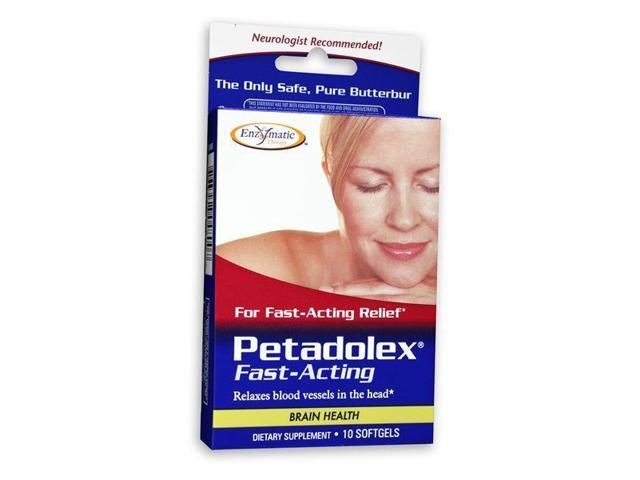 Petadolex Fast Acting - Enzymatic Therapy Inc. - 10 - Softgel