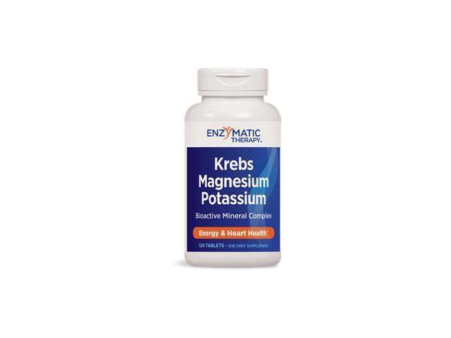 Krebs Magnesium-Potassium Chelates - Enzymatic Therapy Inc. - 120 - Tablet