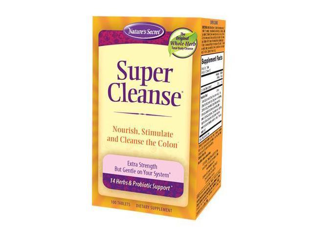Super Cleanse - Colon - Nature's Secret - 100 - Tablet