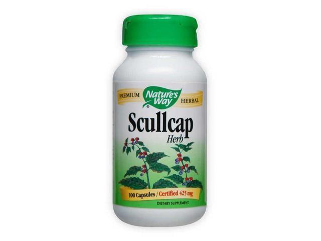 Scullcap Herb - Nature's Way - 100 - Capsule