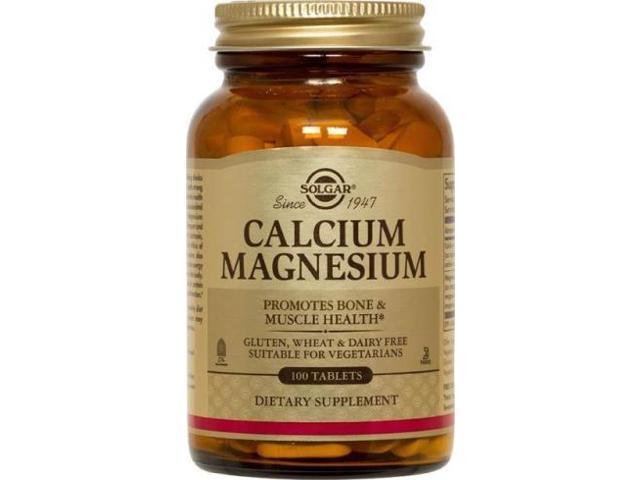 Calcium/Magnesium - Solgar - 100 - Tablet