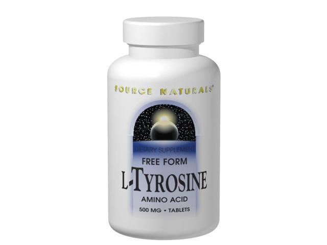 L-Tyrosine 500mg - Source Naturals, Inc. - 50 - Tablet