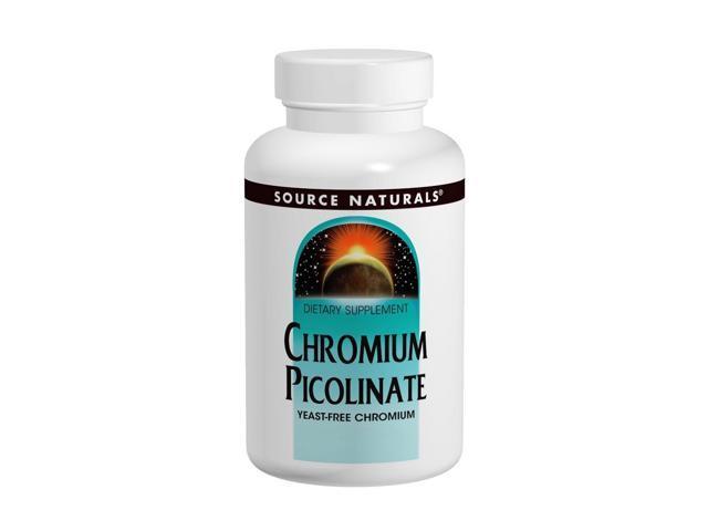 Chromium Picolinate Yeast Free 200mcg - Source Naturals, Inc. - 240 - Tablet