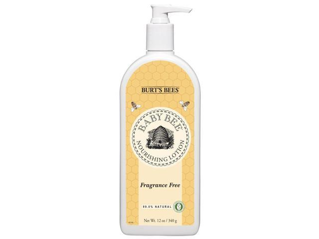 Baby Bee Nourishing Lotion-Fragrance Free - Burt's Bees - 12 oz - Lotion