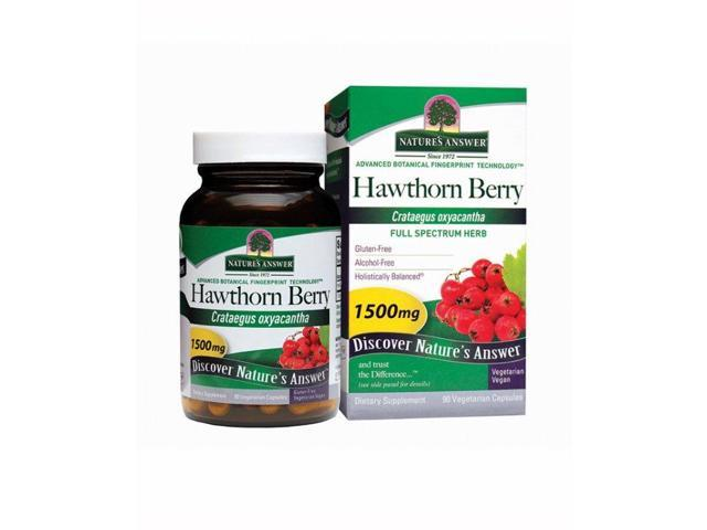 Hawthorn Berry - Nature's Answer - 90 - Capsule