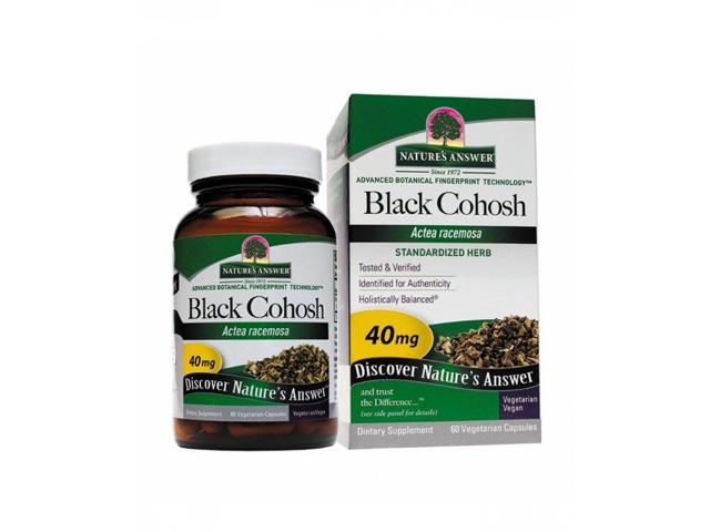Black Cohosh Root Standardized - Nature's Answer - 60 - VegCap