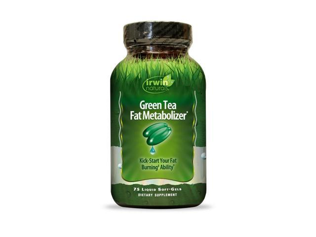 Green Tea Fat Metabolizer - Irwin Naturals - 75 - Capsule