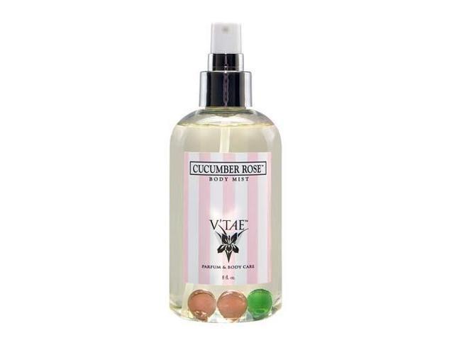 Cucumber Rose Aromatherapy Mist - V'TAE Parfum and Body Care - 8 oz - Liquid