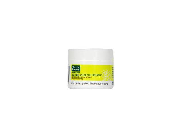 Tea Tree Antiseptic Ointment With Vitamin E - Thursday Plantation - 50 grams - Ointment