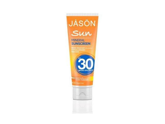 Mineral Sunscreen Broad Spectrum SPF30 - Jason Natural Cosmetics - 4 oz - Liquid