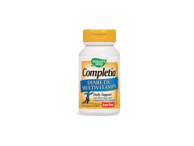 Completia Diabetic (iron free) - Nature's Way - 60 - Tablet