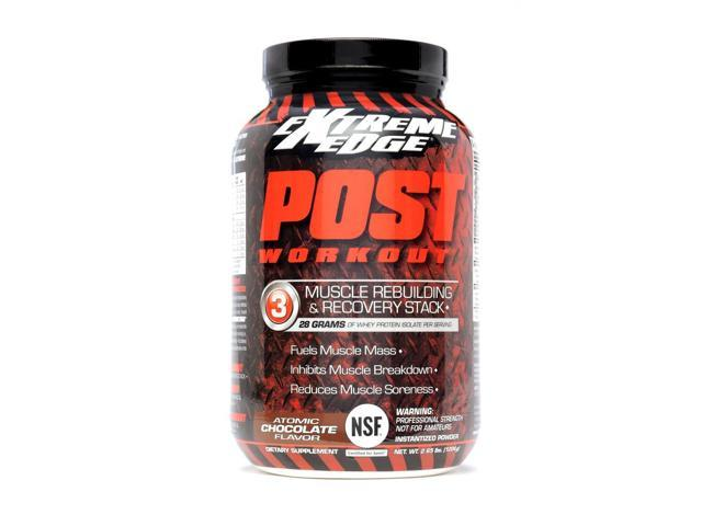 Extreme Edge Post Workout Atomic Chocolate - Bluebonnet - 2.65 lbs - Powder