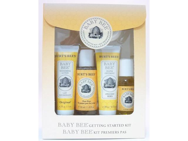 Baby Bee Getting Started Kit - Burt's Bees - 1 - Kit