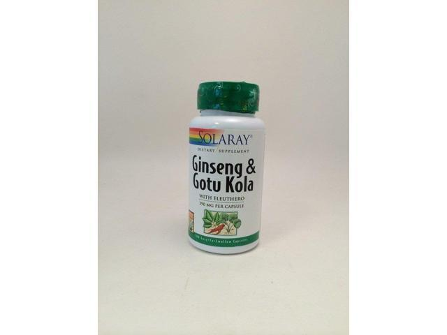 Ginseng and Gotu Kola 350mg - Solaray - 100 - Capsule