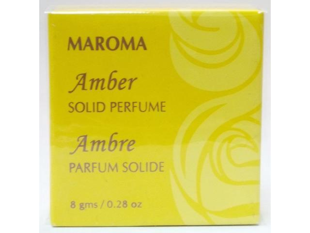 Solid Perfume - Amber - Maroma - 0.28 oz - Solid
