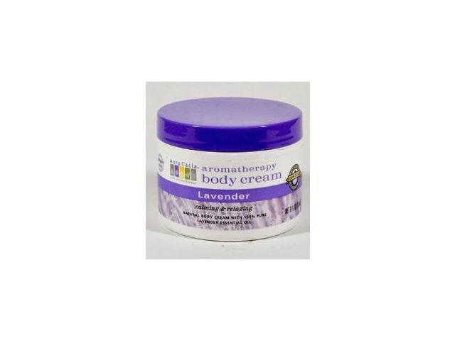 Aromatheraphy Body Cream Lavender - Aura Cacia - 8 oz - Liquid