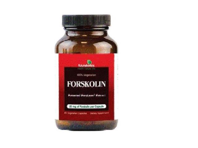 FutureBiotics 1129543 Forskolin 25 Mg - 60 Vegetarian Capsules