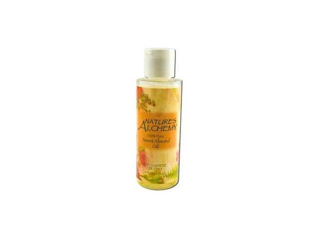 Carrier Oil Sweet Almond - Nature's Alchemy - 4 oz - Oil