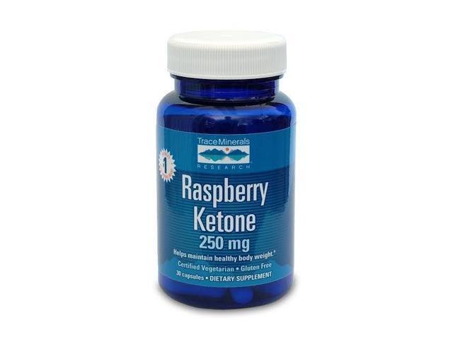 Raspberry Ketone 250 mg (Internationally known as S-Line) - Trace Minerals - 30 - Capsule