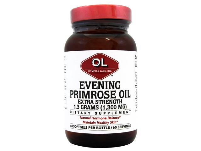 Evening Primrose Oil 1300mg - Olympian Labs - 60 - Softgel