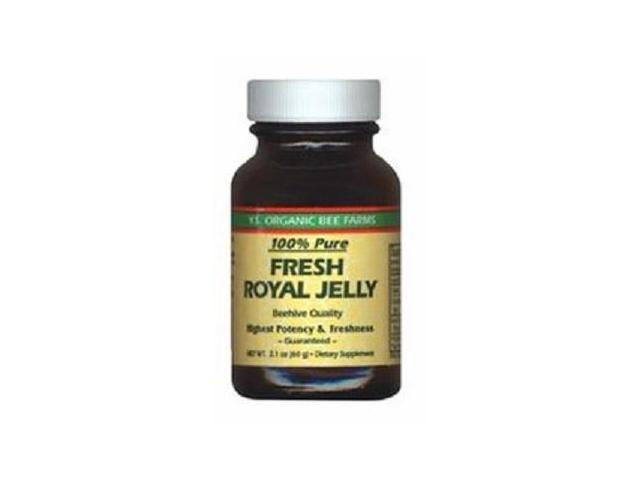100% Pure Fresh Royal Jelly 60,000 mg - YS Eco Bee Farms - 2.1 oz - Liquid