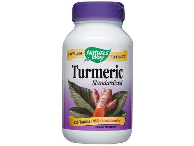 Turmeric - Nature's Way - 120 - Tablet