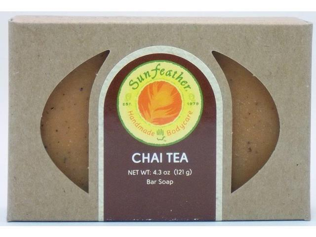 Chai Tea Soap - Sunfeather - 4.3 oz - Bar Soap