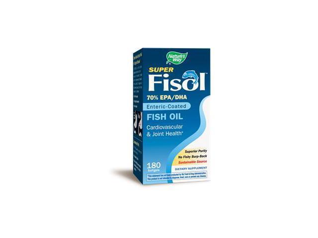 Nature's Way, Super Fisol 180 Softgels